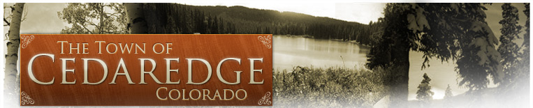The Town of Cedaredge Colorado